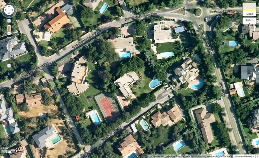 Asaltan una vivienda en la urbanizaci n de la moraleja del ex director de la guardia civil - Casas de famosos en espana ...