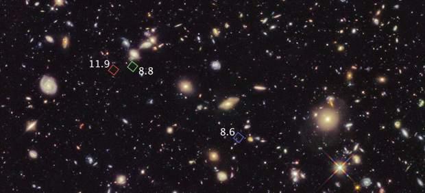 La galaxia más antigua del Universo