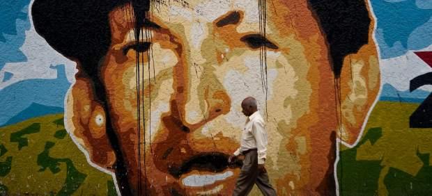 Mural de Hugo Ch�vez