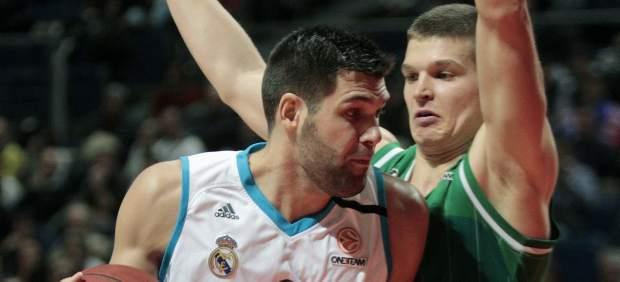 Felipe Reyes ante el Olimpia