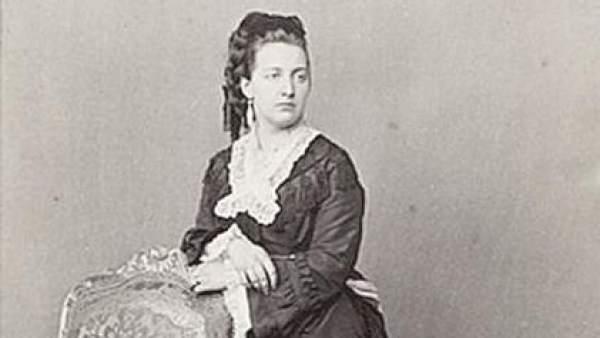 La reina María Victoria dal Pozzo della Cisterna