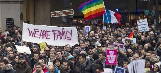 Manifestaci�n por el matrimonio homosexual