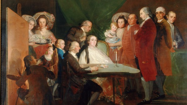 La familia del Infante Don Luis, 1874