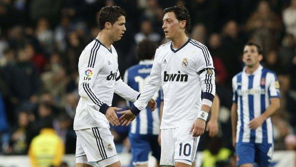 Ozil y Cristiano