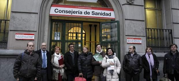 Médicos en huelga