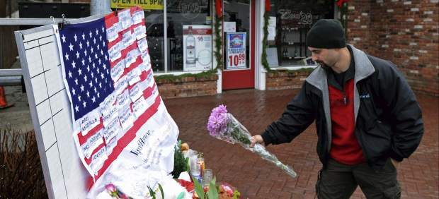 Funeral en Newtown
