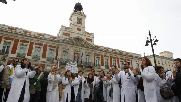 Protesta por la Sanidad