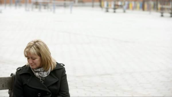 Isabel de la Fuente, madre de una de las víctimas del Madrid Arena