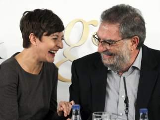 Eva Hache y Enrique González Macho