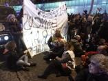 Protesta en la Asamblea de Madrid