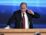 Putin hace balance de su vuelta al Kremlin