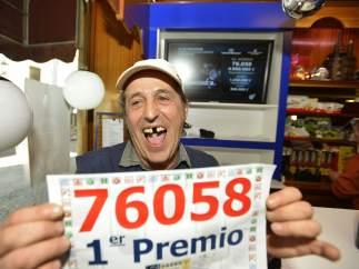 Terminal de venta de lotería