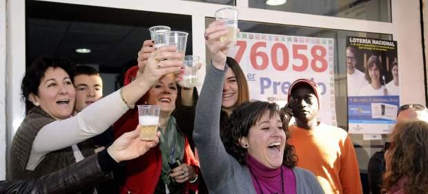 Granada celebra el Gordo