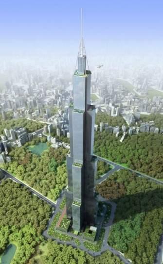 Se inicia en China la construcción del que será el edificio más alto del mundo con 838 metros 89594-335-544