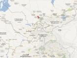 Mapa de Shimkent