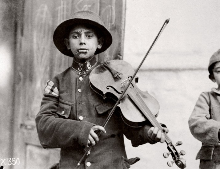 Belgrade. Christmas Fiddles 1918