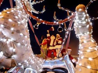 Desfile de navidad en Georgia