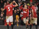 Chicharito, Carrick y Ferdinand