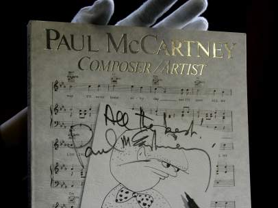 Aut�grafo de Paul McCartney