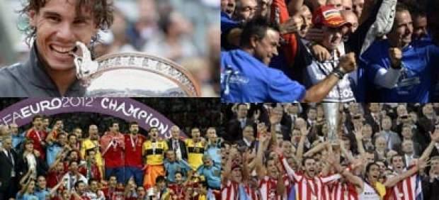 Deporte español en 2012