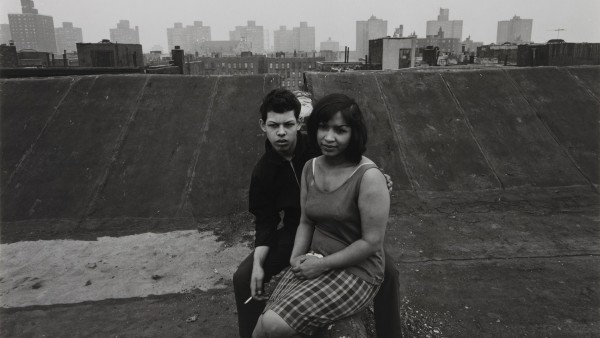 Untitled, [Couple on Rooftop], from East 100th Street series