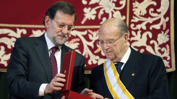 Rajoy y Fernández Albor
