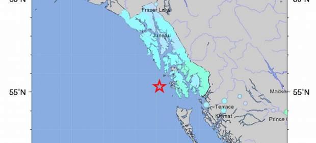 Cancelada la alerta por tsunami en Alaska y la Columbia Británica tras un terremoto 90562-620-282