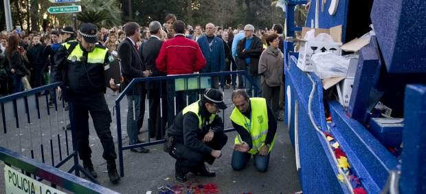 Un niño muere en la cabalgata de Málaga