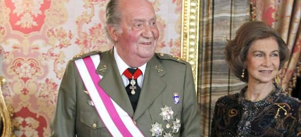 El rey, en la Pascua Militar