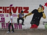 Mural sobre Chávez