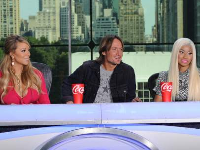 Mariah Carey, Keith Urban y Nicki Minaj