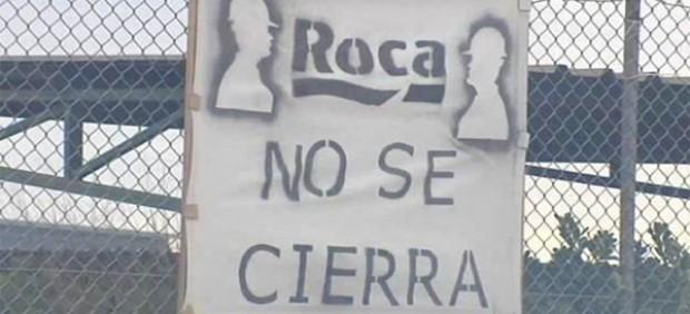 Huelga indefinida en Roca contra el cierre