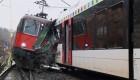 Colisi�n de dos trenes en Suiza
