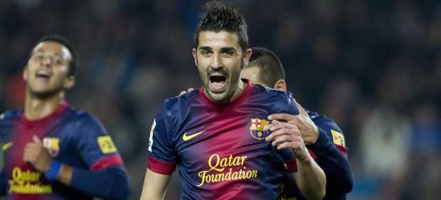 Gol de David Villa