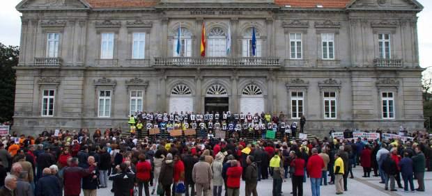 Afectados por las preferentes en Pontevedra