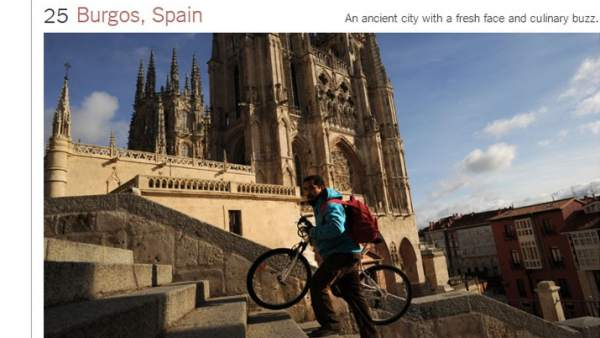 Burgos, en 'The New York Times'