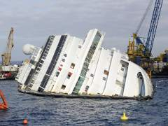 Costa Concordia encallado