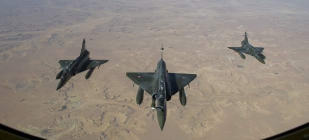 Ofensiva a�rea en Mali