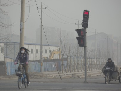 Extrema contaminación en China