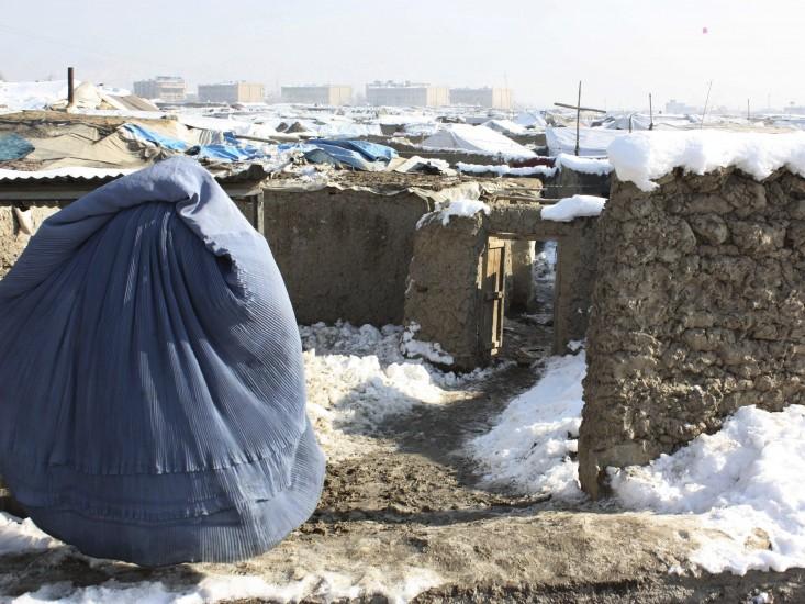 Alerta por el frío extremo en Afganistán