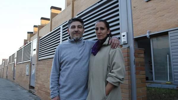 Javier y Estrella, chalés de Valdemoro