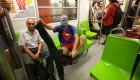 'Al metro sin pantalones'