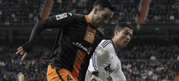 Cristiano y Rami en el Real Madrid - Valencia
