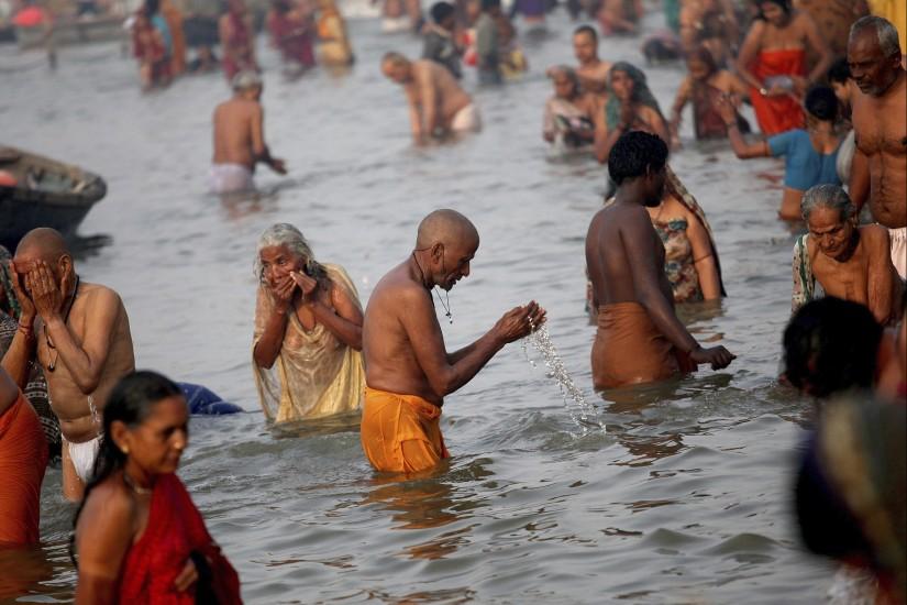 Festival hindú 'Maha Kumbh Mela'