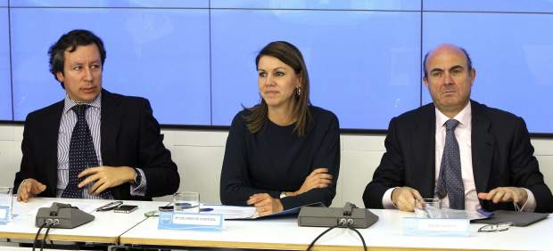 De Guindos, Cospedal y Floriano