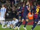 Gol de Puyol al Zaragoza