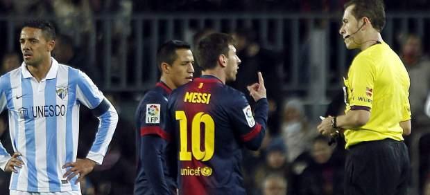 Messi ante el Bar�a