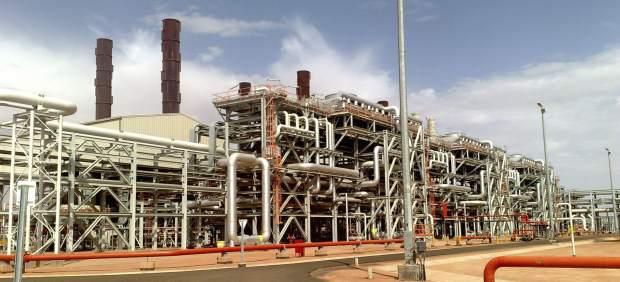 Central de BP en Argelia