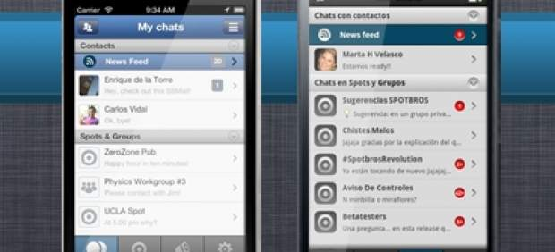 Spotbros, el WhatsApp español, y otras alternativas en mensajería para teléfonos móviles