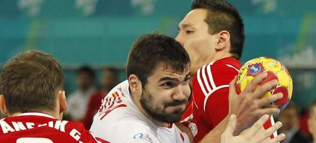 Jorque Maqueda ante Hungr�a de balonmano